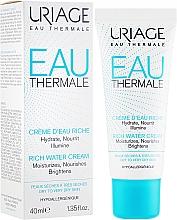 Kup Nawilżająco-odżywczy krem rozświetlający - Uriage Eau Thermale Rich Water Cream