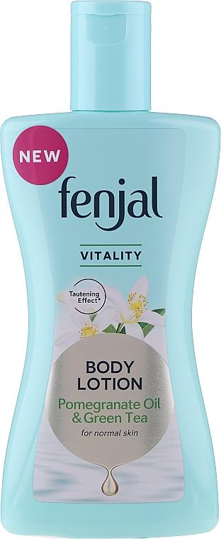 Balsam do ciała z olejem z granatu i zieloną herbatą - Fenjal Vitality Body Lotion Pomegranate Oil & Green Tea — фото N3