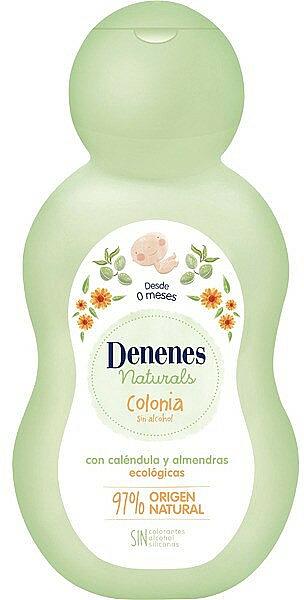 Woda kolońska dla dzieci z nagietkiem i migdałami - Denenes Cologne Naturals — фото N1