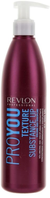 Modelujący koncentrat zwiększający objętość włosów - Revlon Professional Pro You Texture Substance Up — фото N1