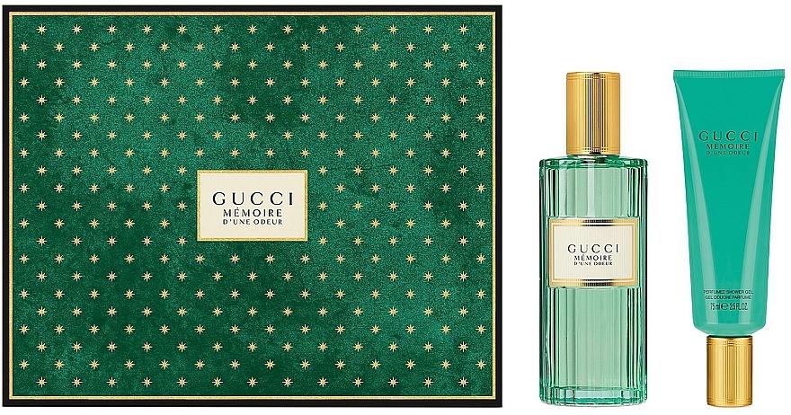 Gucci Memoire D'une Odeur - Zestaw (edp 100 ml + sh/gel 75 ml) — фото N1