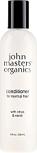 Kup Odżywka do włosów Cytrus i neroli - John Masters Organics Citrus & Neroli Detangle