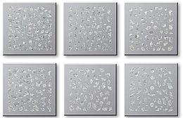 Kup Zestaw naklejek do paznokci 42744 - Top Choice Nail Decorations Stickers Set