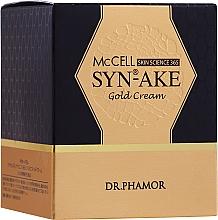 Kup Krem do intensywnie odżywiający skórę - Dr. Pharmor McCell Skin Science 365 SYN-AKE Gold Cream