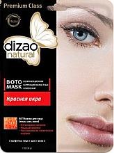 Kup Maska botoksowa na twarz, szyję i powieki Czerwony kawior - Dizao