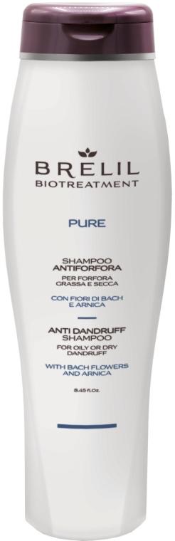 Przeciwłupieżowy szampon do włosów - Brelil Bio Traitement Pure Anti Dandruff Shampoo — фото N1