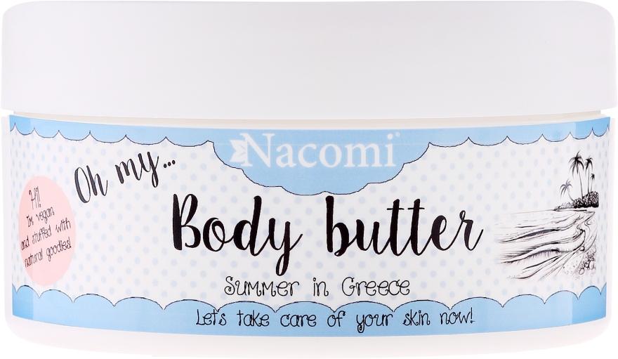 Masło do ciała Greckie lato - Nacomi Body Butter