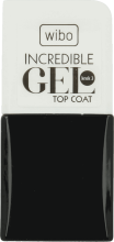 Kup Żelowy top coat do paznokci - Wibo Incredible Gel Top Coat