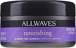 Kup Maska nawilżająca do włosów farbowanych Jagody i nagietek - Allwaves Blueberry And Calendula Nourishing Mask
