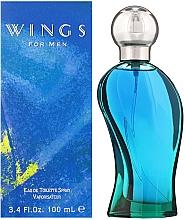 Giorgio Beverly Hills Wings For Men - Woda toaletowa — фото N3