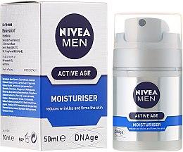 Kup Krem przeciw starzeniu się skóry dla mężczyzn - Nivea Men Active Age Moisturiser