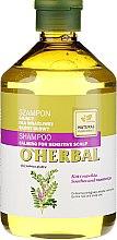 Kup Kojący szampon do wrażliwej skóry głowy z ekstraktem z lukrecji - O'Herbal