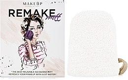 Kup Biała rękawiczka do demakijażu ReMake (15 x 12 cm) - Makeup