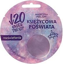 Kup Rozświetlająca maska do twarzy o zapachu gumy do żucia Księżycowa poświata - Under Twenty Peel-Off Face Mask Moonlight