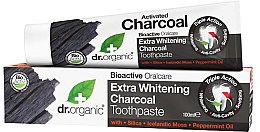 Kup Ekstrawybielająca pasta do zebów Węgiel aktywny - Dr. Organic Extra Whitening Charcoal Toothpaste