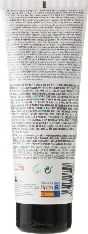 Nawilżająca odżywka do włosów normalnych i suchych Kokos - Naturalium Moisturizing Conditioner Coconut — фото N2