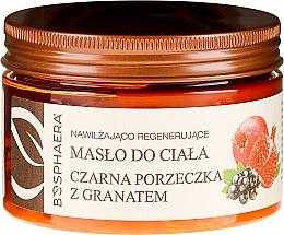 Kup Nawilżająco-regenerujące masło do ciała Czarna porzeczka z granatem - Bosphaera