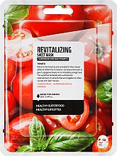 Kup PRZECENA! Rewitalizująca maska do twarzy na tkaninie Pomidor - Superfood For Skin Revitalizing Sheet Mask *