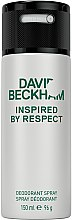 Kup David Beckham Inspired by Respect - Perfumowany dezodorant w sprayu