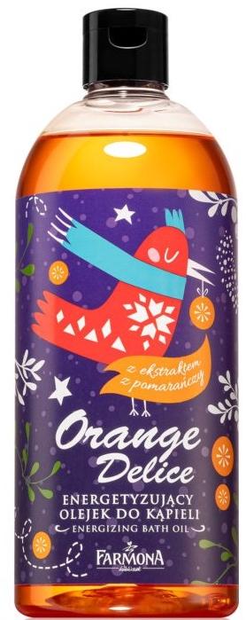 Energetyzujący olejek do kąpieli z ekstraktem z pomarańczy - Farmona Magic Spa Orange Delice