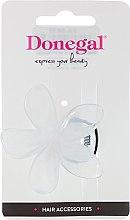 Spinka do włosów, tukan FA-5832, biała - Donegal — фото N1