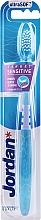 Ultramiękka szczoteczka do zębów, błękitna - Jordan Target Sensitive Ultrasoft — фото N1