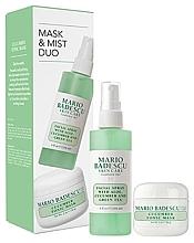 Kup Zestaw - Mario Badescu Cucumber Mask & Mist Duo Set (mask/56g + spray/118ml)