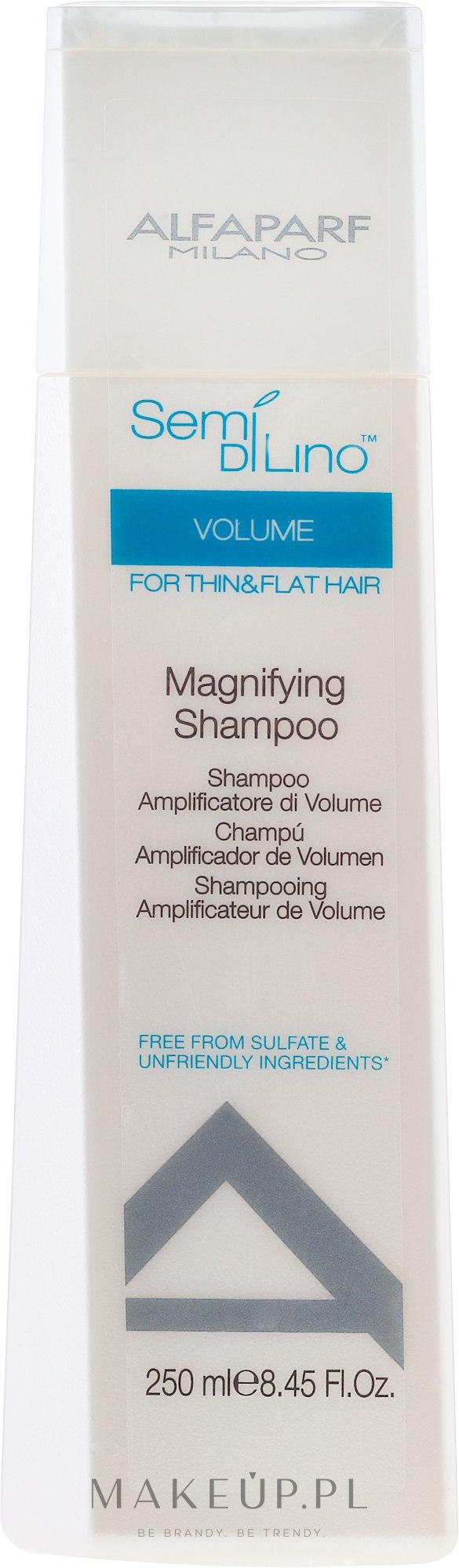 Szampon dodający włosom objętości - Alfaparf Semi di Lino Volume Magnifying Shampoo — фото 250 ml