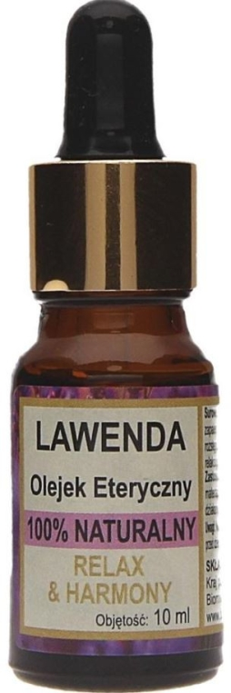 Naturalny olejek lawendowy - Biomika