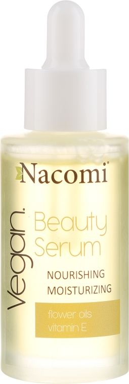 Odżywcz-nawilżające serum do twarzy - Nacomi Beauty Serum Nourishing & Moisturizing Serum