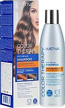 Kup Szampon do włosów farbowanych przeciw pomarańczowym tonom - Kativa Color Therapy Anti-Orange Effect Shampoo