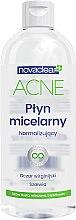 Kup Normalizujący płyn micelarny z ekstraktem z oczaru wirginijskiego i szałwii do cery tłustej, mieszanej i trądzikowej - Novaclear Acne Micellar Water