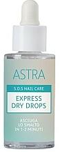 Kup Wysuszacz do paznokci - Astra Make-up Sos Nails Care Express Dry Drops