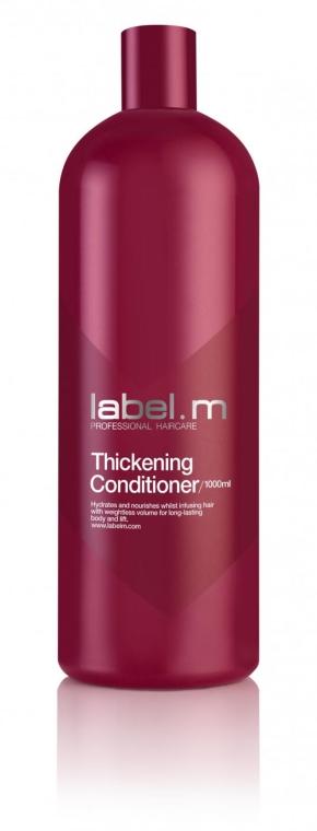Nawilżająca odżywka nadająca włosom objętość - Label.m Thickening Conditioner — фото N2