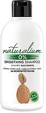 Kup Wygładzający szampon do włosów normalnych i suchych z wyciągiem z migdała i pistacji - Naturalium Almond & Pistachio Smoothing Shampoo
