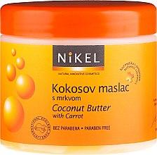 Kup Masło kokosowe do ciała z marchewką - Nikel Coconut Butter With Carrot