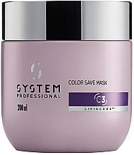 Kup Maska do włosów farbowanych - System Professional Color Save Lipidcode Mask C3