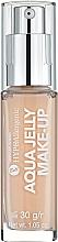 Kup Hipoalergiczny podkład nawilżająco-matujący o konsystencji galaretki - Bell Hypoallergenic Aqua Jelly Make-Up