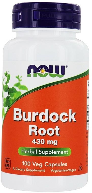 Suplement diety Korzeń łopianu, 430 mg - Now Foods Burdock Root — фото N1