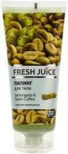 Kup Peeling do ciała Trawa cytrynowa i zielona kawa - Fresh Juice Lemongrass & Green Coffee