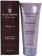 Kup Hugh Parsons Traditional Shower Gel Hair Body - Żel pod prysznic do włosów i ciała
