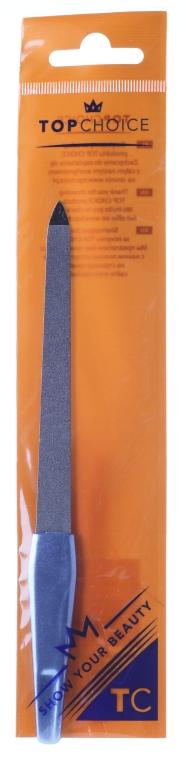 Pilnik szafirowy do paznokci, 17 cm, 7217, niebieski - Top Choice