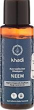 Kup Szampon przeciwłupieżowy Neem - Khadi Neem Shampoo