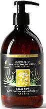Kup Mydło w płynie z oliwą z oliwek, Trawa cytrynowa - Saryane Olive & Moi Liquid Soap