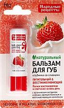 Kup Naturalny balsam do ust Truskawka ze śmietanką - Fitokosmetik Przepisy ludowe