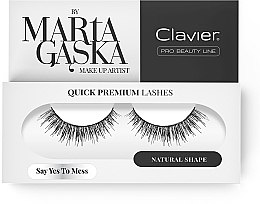 Kup Sztuczne rzęsy - Clavier Quick Premium Lashes Say Yes To Mess SK09