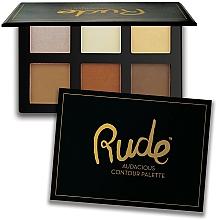 Kup Paletka do konturowania twarzy - Rude Audacious Contouring Palette
