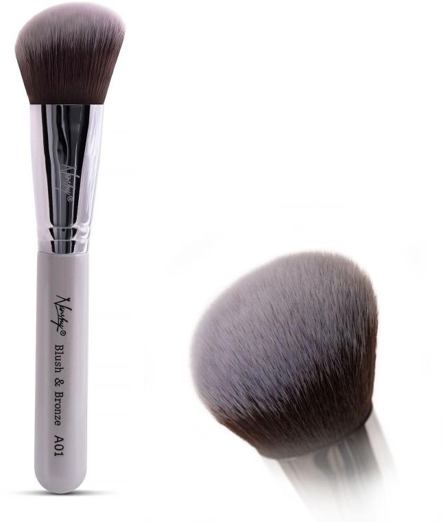 Pędzel do makijażu - Nanshy Blush & Bronze A01 P. White — фото N1