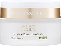 Kup PRZECENA! Przeciwstarzeniowy krem na noc - Yves Rocher Anti-Age Global Night Cream Comfort*