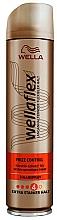 Kup Bardzo mocny lakier do włosów - Wella Wellaflex Frizz Control 4 Haarspray